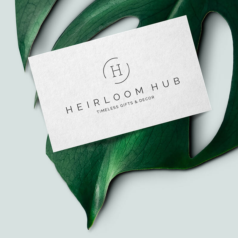 Corporate Identity - Heirloom Hub